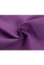 Kanvas stoff Uni - Cassis (350 gr/m)