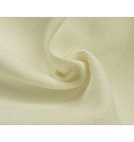 Canvas stof Uni - Ecru (350 gr/m)