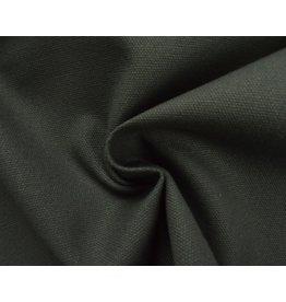 Canvas stof Uni - DK Grijs (350 gr/m)