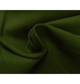 Canvas fabric Uni - Green (350 gr/m)