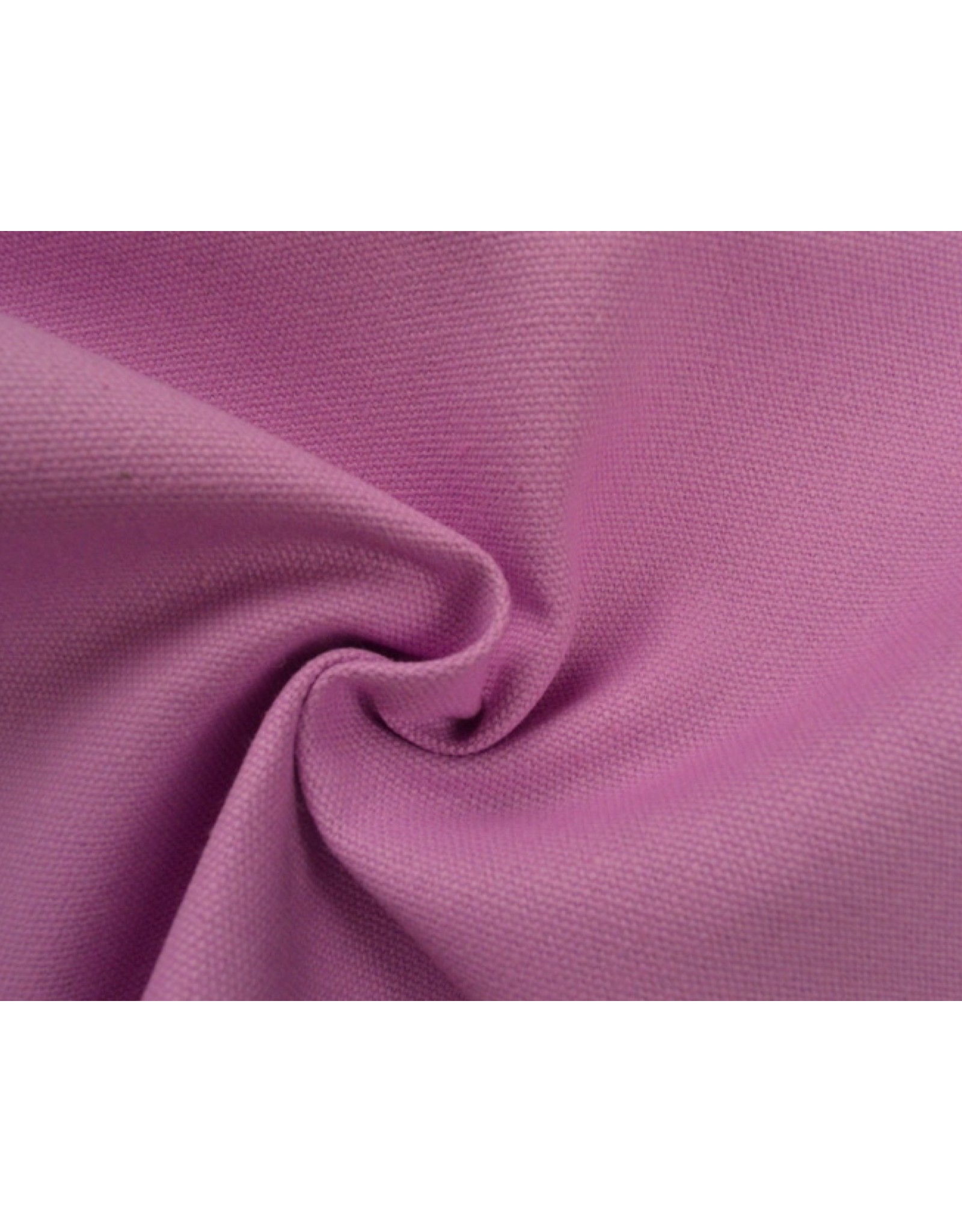 Kanvas stoff Uni - Rosa  (350 gr/m)