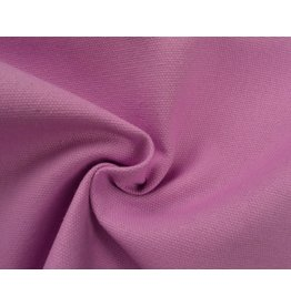 Canvas fabric Uni - Pink (350 gr/m)