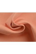 Kanvas stoff Uni - Lachs Rosa  (350 gr/m)