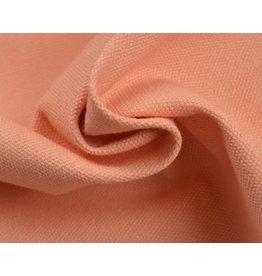 Canvas fabric Uni - Salmon (350 gr/m)