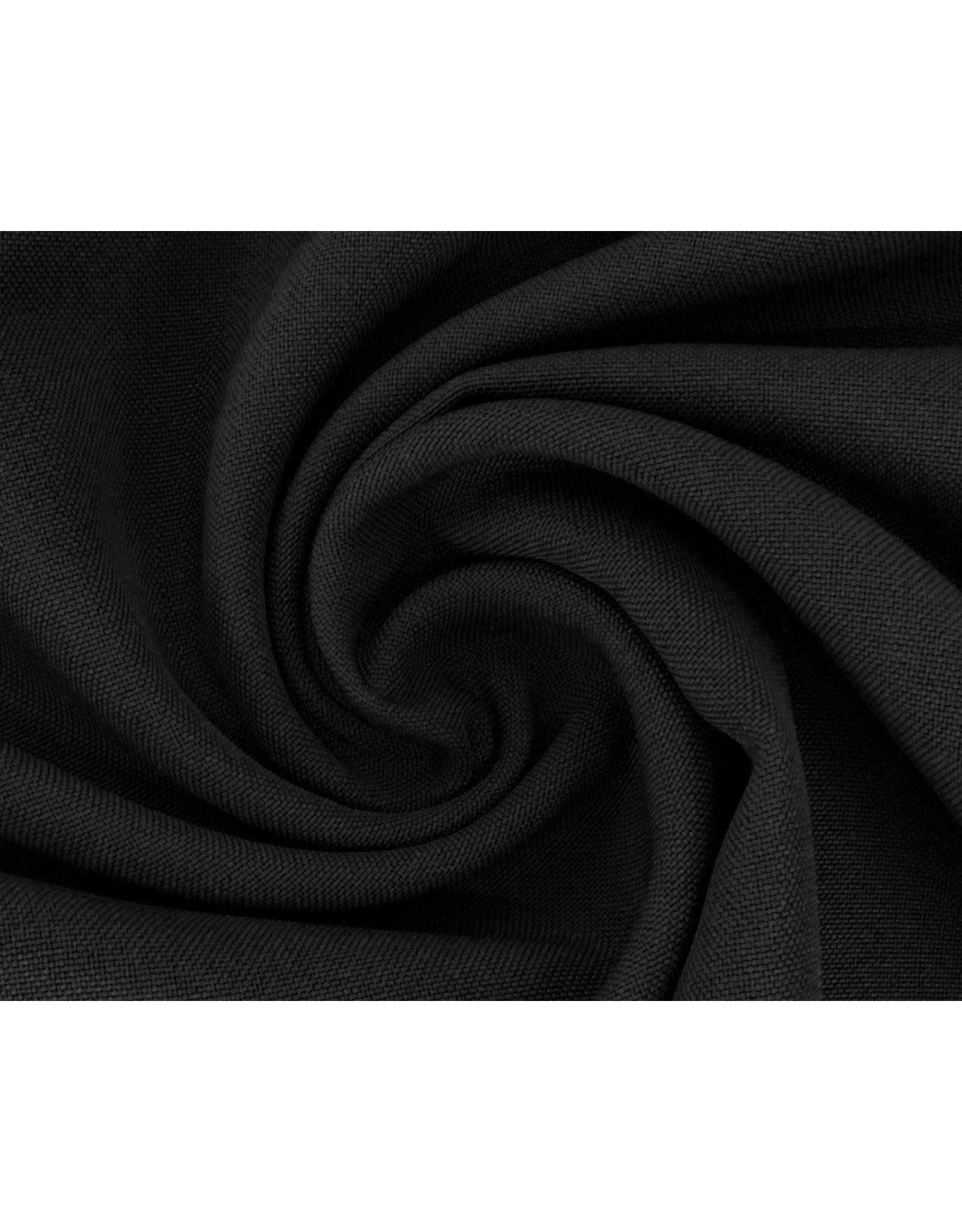 Bettlaken Baumwolle 240 cm - Schwarz