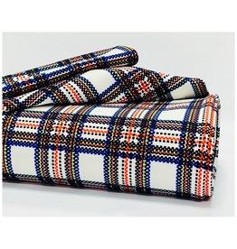 Punta fabric blocks white / 45559