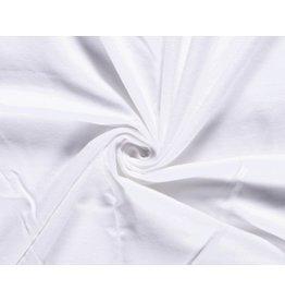 Flanel fabric White