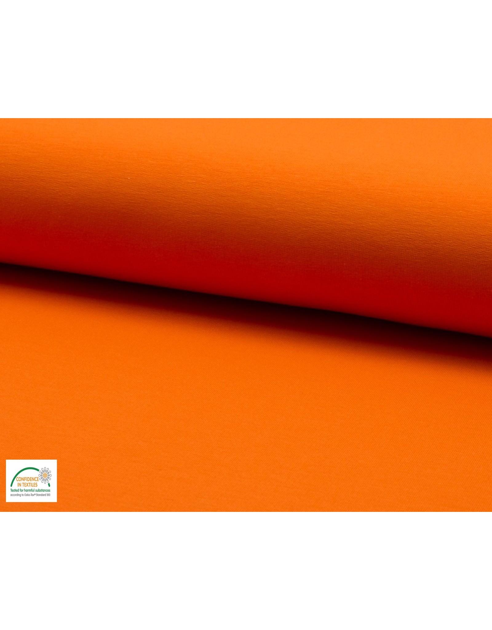 French Terry - Oranje