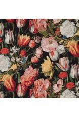 B&B Fabrics Gobelin Premium - Rijksmuseum Luxus schwarz