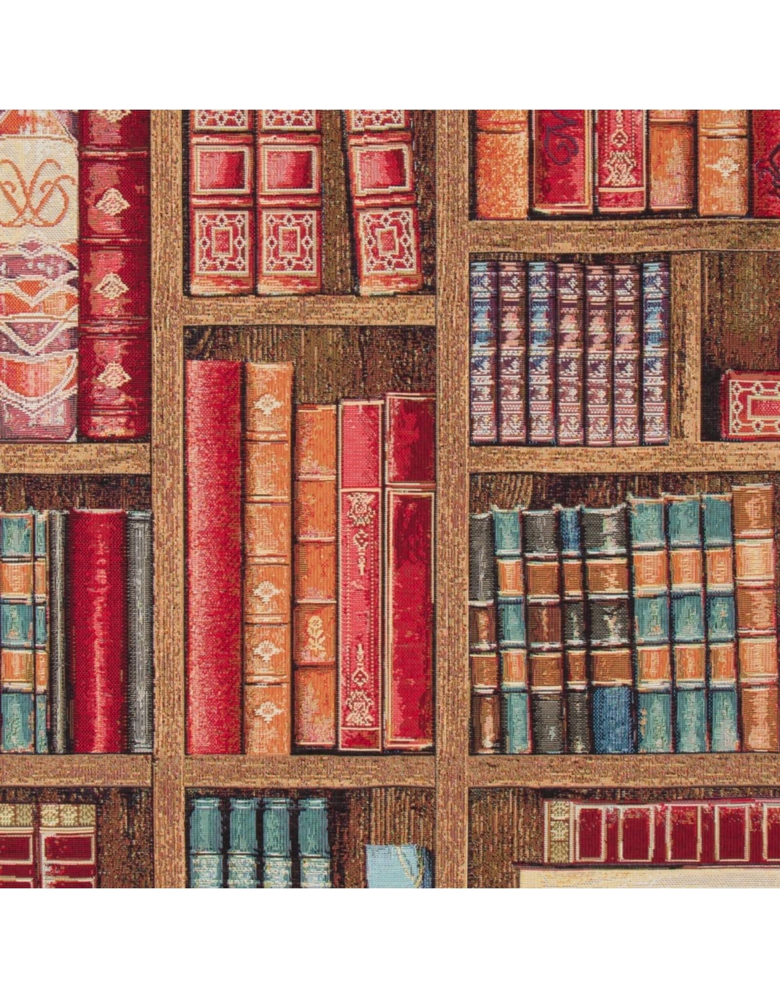 B&B Fabrics Gobelin Premium - Bookshelves