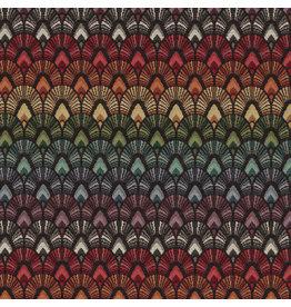 B&B Fabrics Gobelin Premium - Bow Parade black