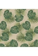 B&B Fabrics Gobelin Premium - Tropical Leaves