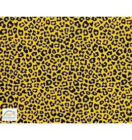 Qjutie Collection Qjutie Kids poplin baumwolle leopard ocker