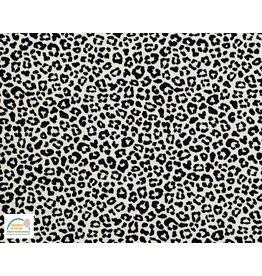 Qjutie Collection Qjutie Kids poplin baumwolle leopard weiss