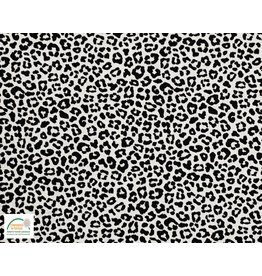 Qjutie Collection Qjutie Kids poplin katoen leopard white