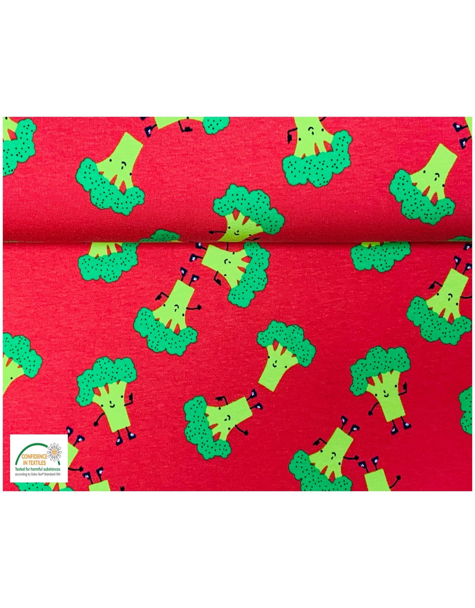 Tricot katoen Broccoli - Ferrari