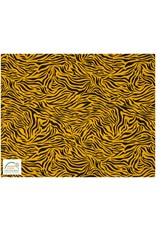 Qjutie Collection Qjutie tricot katoen tiger - Oker
