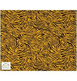 Qjutie Collection Qjutie Baumwolljersey tiger - Ockergelb