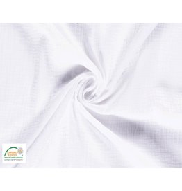 Hydrofiel stof Katoen Wit