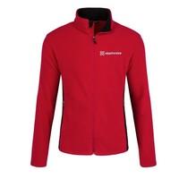 Red Port Authority® Colorblock Value Fleece Jacket