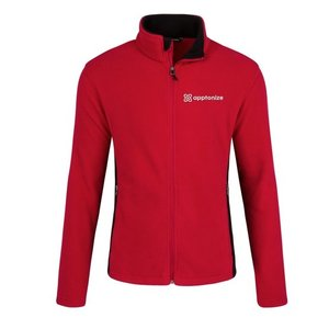Apptonize Red Port Authority® Colorblock Value Fleece Jacket