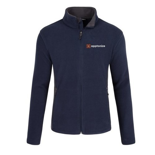 Apptonize Navy Port Authority® Colorblock Value Fleece Jacket