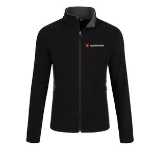 Apptonize Black Port Authority® Colorblock Value Fleece Jacket