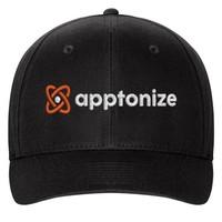 Black Flexfit Structured Twill Cap