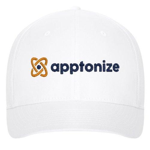 White Flexfit Structured Twill Cap