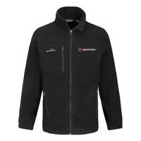Black Eddie Bauer® Full-Zip Fleece Jacket