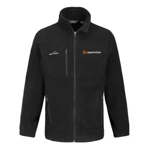 Black Eddie Bauer® Full-Zip Fleece Jacket