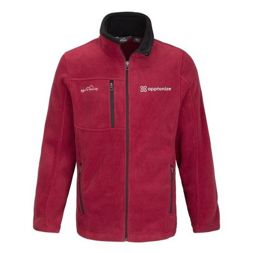 Red Eddie Bauer® Full-Zip Fleece Jacket