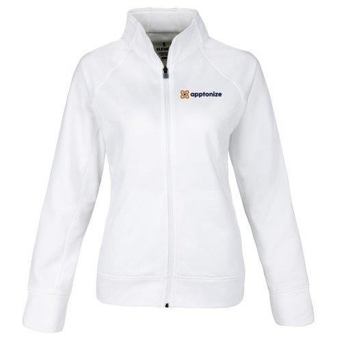 White Elevate Okapi Women's Knit Jacket
