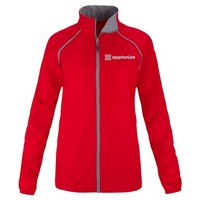 Red Elevate Women's Egmont Packable Jacket