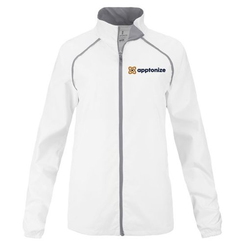 White Elevate Women's Egmont Packable Jacket