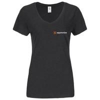 Black District Made® Ladies Perfect Tri® V-Neck T-Shirt