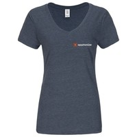 Navy District Made® Ladies Perfect Tri® V-Neck T-Shirt