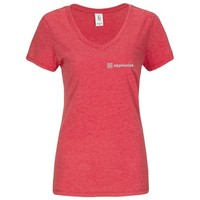 Red District Made® Ladies Perfect Tri® V-Neck T-Shirt