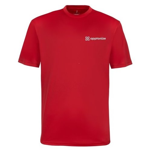 Red Elevate Men's Omi Short Sleeve Tech T-Shirt