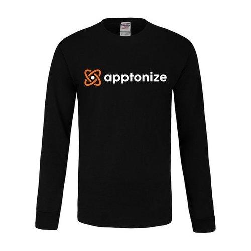 Black JERZEES® Dri-Power® Sport Long Sleeve T-Shirt