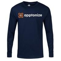 Navy Hanes® Tagless® Long Sleeve T-Shirt