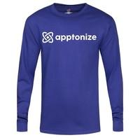 Blue Hanes® Tagless® Long Sleeve T-Shirt