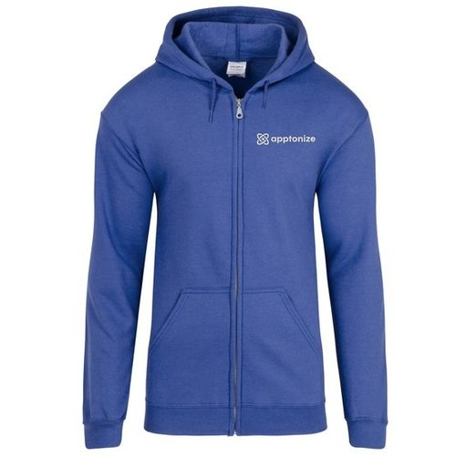 Blue Gildan® Heavy Blend™ Full-Zip Hooded Sweatshirt