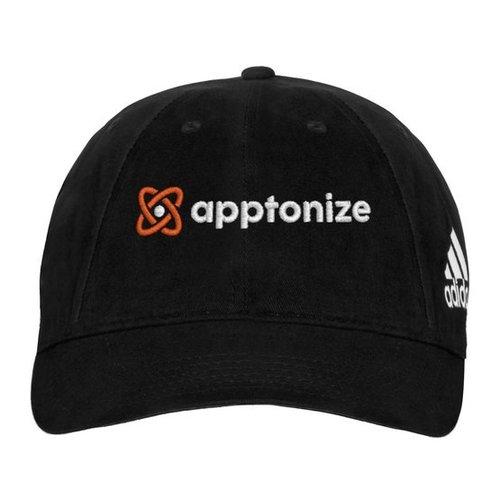 Black adidas® Unstructured Cresting Cap