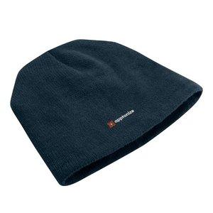 Navy Port & Company® Fleece-Lined Beanie Cap