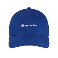 Blue Port & Company® Brushed Twill Low Profile Cap