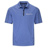 Blue Elevate Men's Macta Short Sleeve Polo Shirt