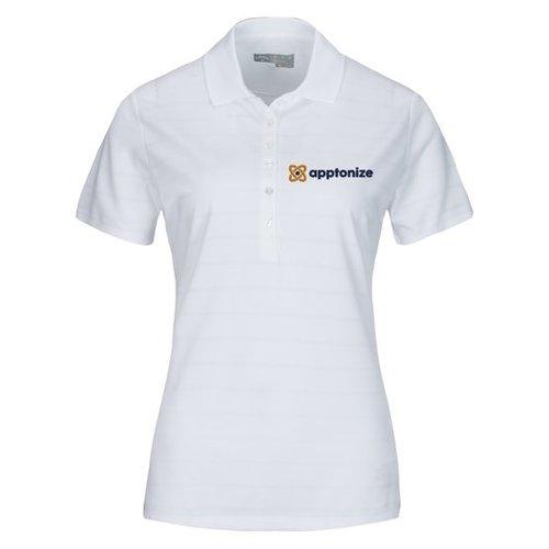 White Callaway® Opti-Vent™ Women's Polo Shirt