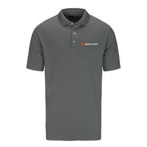 Smoke Pearl Callaway® Ottoman Men's Polo Shirt