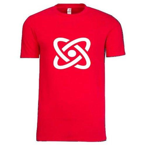 Red  Anvil® 4.5-Ounce Ring-Spun Lightweight Men's T-Shirt Screenprint